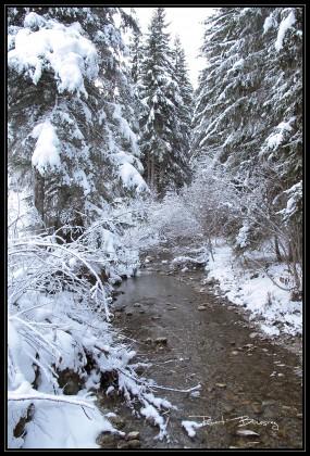 décor d'hiver