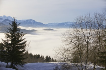 vue du môle - mer de nuage